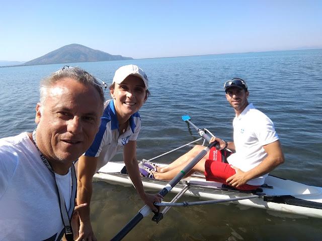 Θεσπρωτία: Η ολυμπιονίκης Αλ. Τσιάβου και ο πρωταθλητής Απ. Γκουντούλας στις κατασκηνώσεις Σαγιάδας