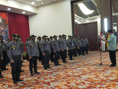Pengurus Perbakin Kota Bandarlampung Dilantik, Irham Targetkan Tiga Medali Emas
