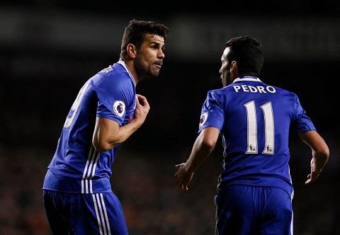 Pedro thi đấu ấn tượng trong màu áo Chelsea
