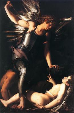 Sacred love conquers profane love,  Giovanni Baglione, 1602, Staatliche Museen, Berlin