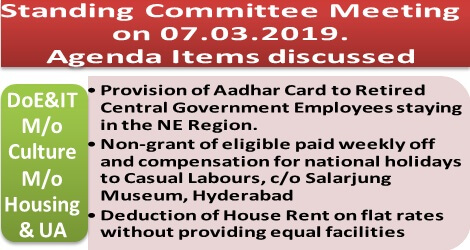 standing-committee-meeting-agenda-items-ministry-of-electronics-culture-housing