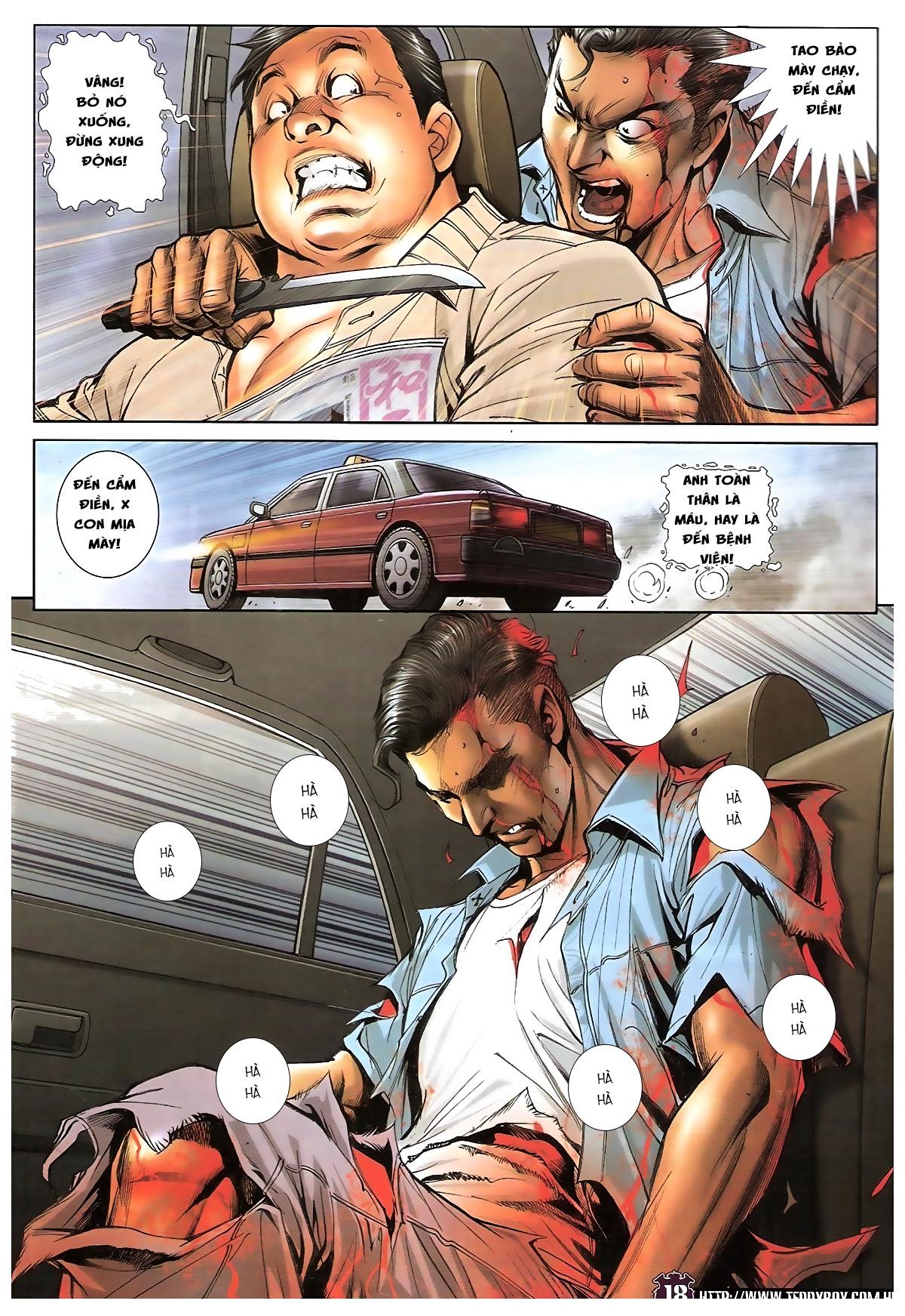 Người Trong Giang Hồ chapter 1724: tiểu đông trở về trang 16