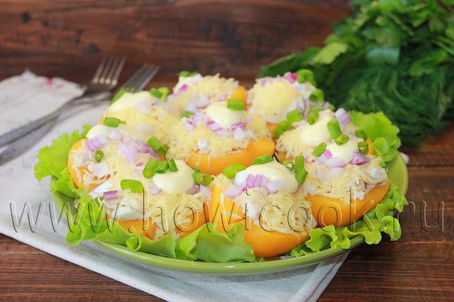 рецепт фаршированных персиков
