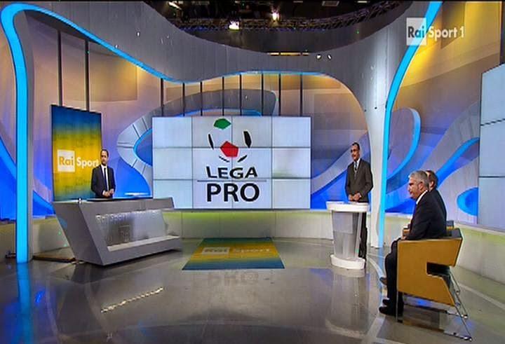 "La trasmissione ""Rai Lega Pro"" di ieri. fotosportnotizie.com"