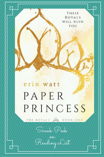 Paper Princess a Sneak Peek on Reading List