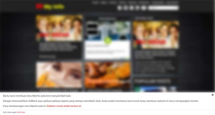 Cara Lain Membuat Notifikasi Untuk Pengguna AdBlocker Untuk Blog AMP HTML