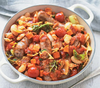 sausage and bean stew recipe