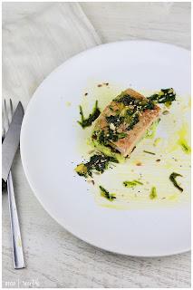 Atún a la plancha con mostaza y miel: receta sana y fácil en 8 minutos!!