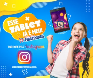Promoção Mercadinho Piratininga Esse Tablet é Meu Dia das Crianças 2020