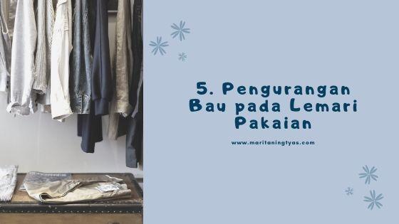 deodorant untuk mengurangi bau pada lemari pakaian