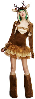 Fever Reindeer Women's Costume for Halloween