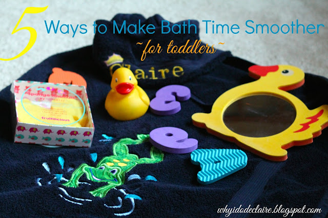 how to make bath time with toddlers easier with spongelle