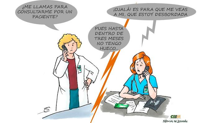 CUANDO LOS MÉDICOS SON LOS PACIENTES