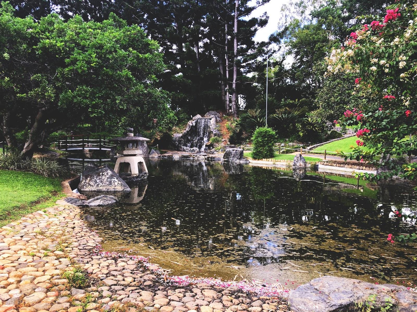 Rockhampton Botanic Gardens, japanese garden