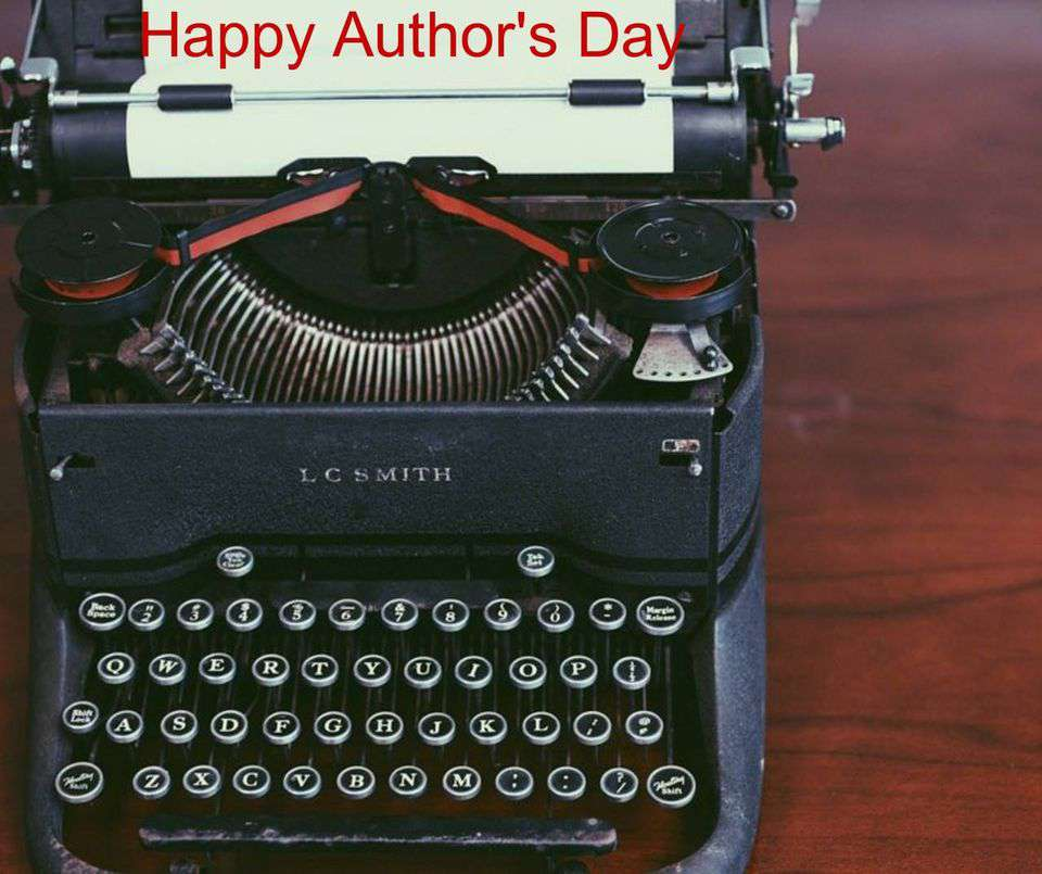 National Author's Day Wishes Beautiful Image