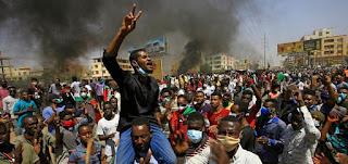 """مظاهرات السودان: مئات الآلاف يتظاهرون من أجل """"تصحيح مسار الثورة"""""""