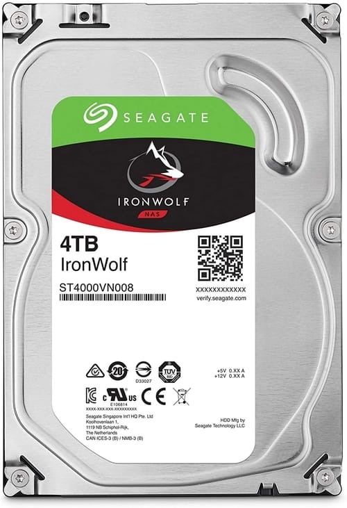 Review Seagate IronWolf 4TB NAS Internal Hard Drive HDD