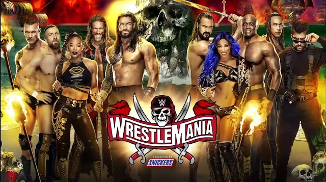 WrestleMania 37 Night 1 PPV – 4/10/2021 Live Stream