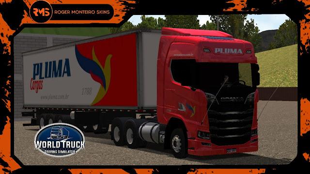 Scania S Pluma Transportes - Pluma Transportes - Skins Scania S