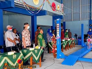 SMK Muhammadiyah Bangsri Buka Dan Resmikan Bengkel Baru