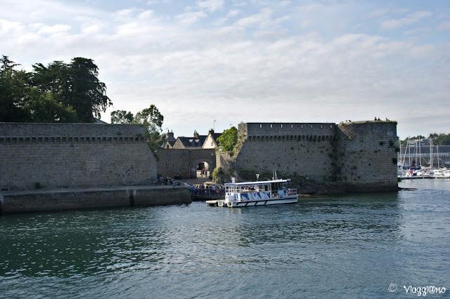 La Porte de Larrons per accedere alla Ville Close di Concarneau