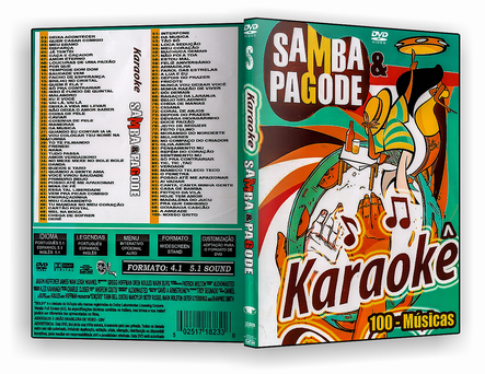 DVD SAMBA & PAGODE KARAOKE 100 MUSICAS - ISO