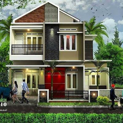model rumah cantik minimalis paling keren