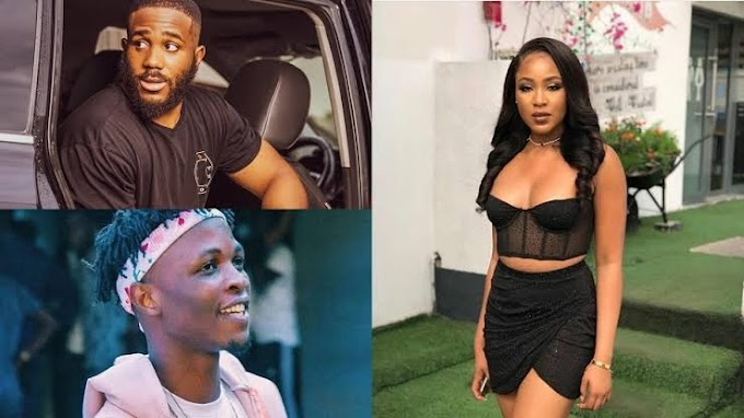BBNaija: Erica Caught Doing This With Laycon After Break-up With Kiddwaya (Video)