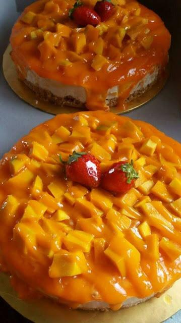 resepi senang,resepi simple,resepi,Resepi Mangga Aiskrim Cheese Kek