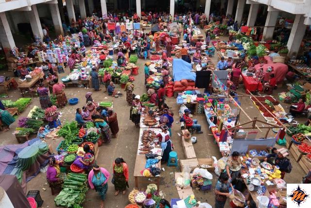 Zunil, mercato del lunedì