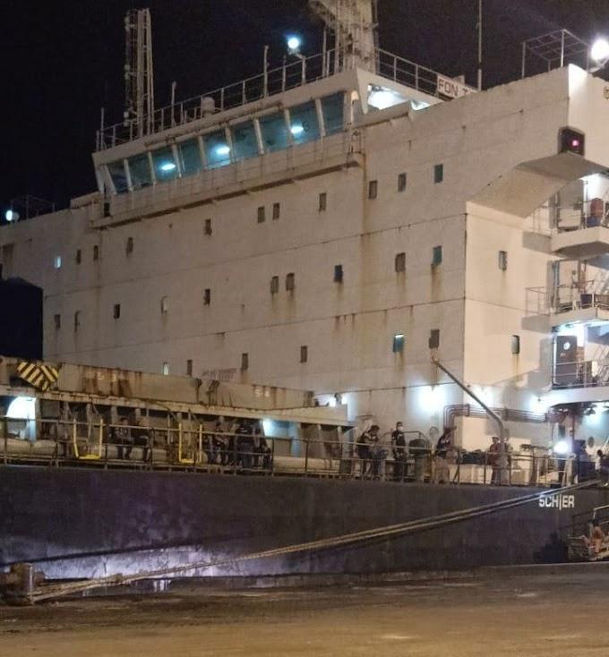 Langgar Hukum Berlayar, Kapal Asing di Sandarkan Bareskrim Polri dan Ditpolairud Polda Banten