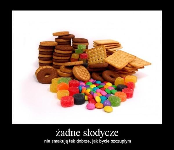 Jak schudnąć i nie jeść słodyczy?