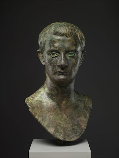 This bronze bust of Caligula is displayed in the Metropolitan Museum of New York