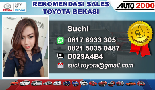 Rekomendasi Sales Dealer Anzon Toyota Tambun Bekasi