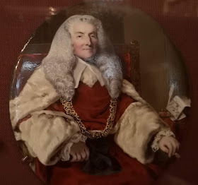 Lord Mansfield from a miniature at Kenwood House  © Photo A Knowles