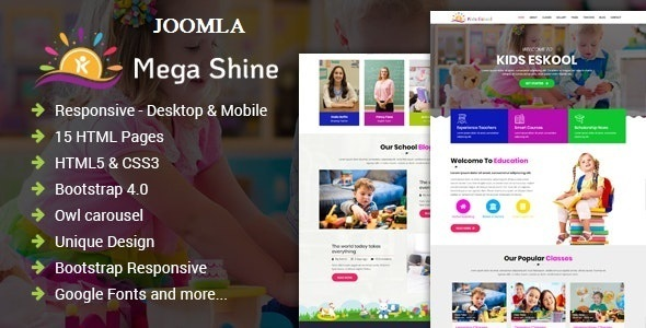 Best Education Primary School Joomla Template