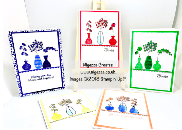 Nigezza Creates with Stampin' Up! and Varied Vases