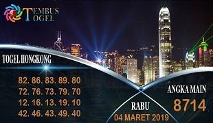 Prediksi Togel Hongkong Rabu 04 Maret 2020