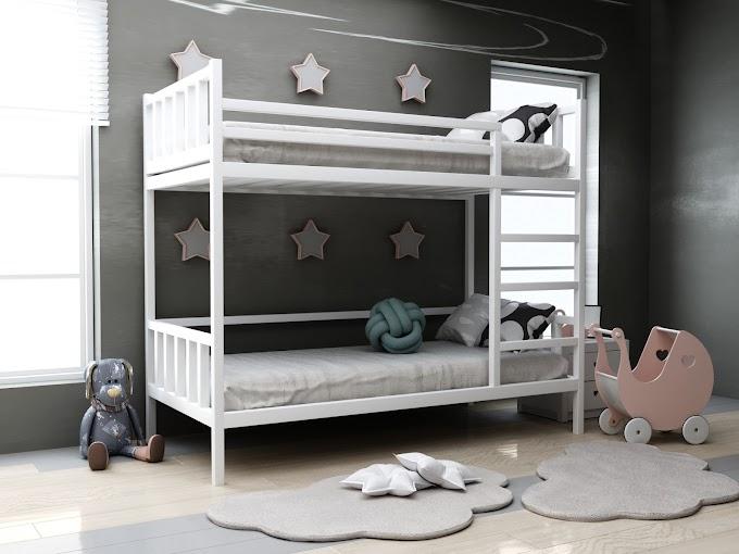 Детская двухъярусная кровать Хатико 80х190  ТМ MegaOpt