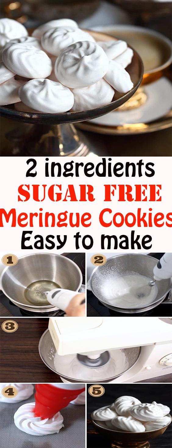 Sugar Free Meringue Cookies