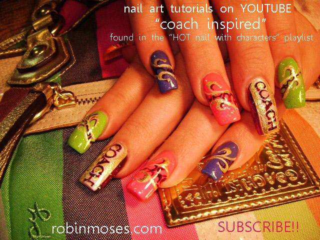 Nail Art By Robin Moses Diva Nail Art Long Nail Art Zebra