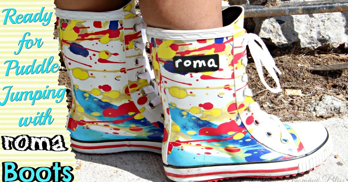 Get Ready For Puddle Jumping With Roma Boots New Mommy