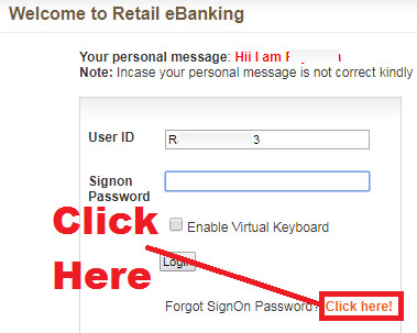 how to reset bank of baroda login password