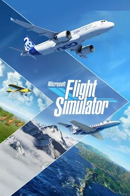 Capa do Microsoft Flight Simulator 2020