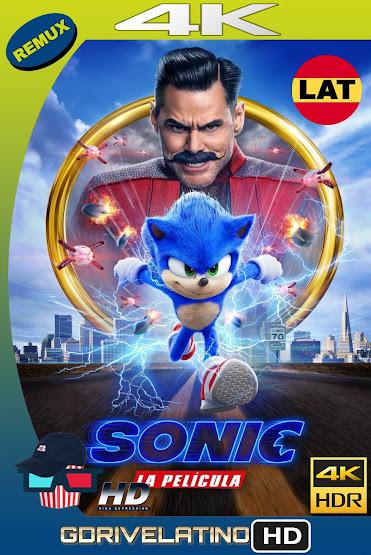 Sonic: La Película (2020) BDRemux 4K HDR Latino-Ingles MKV