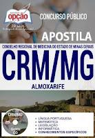 Apostila PDF CRM Minas Gerais Digital GRÁTIS.