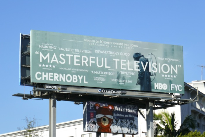 Chernobyl Masterful TV HBO FYC billboard