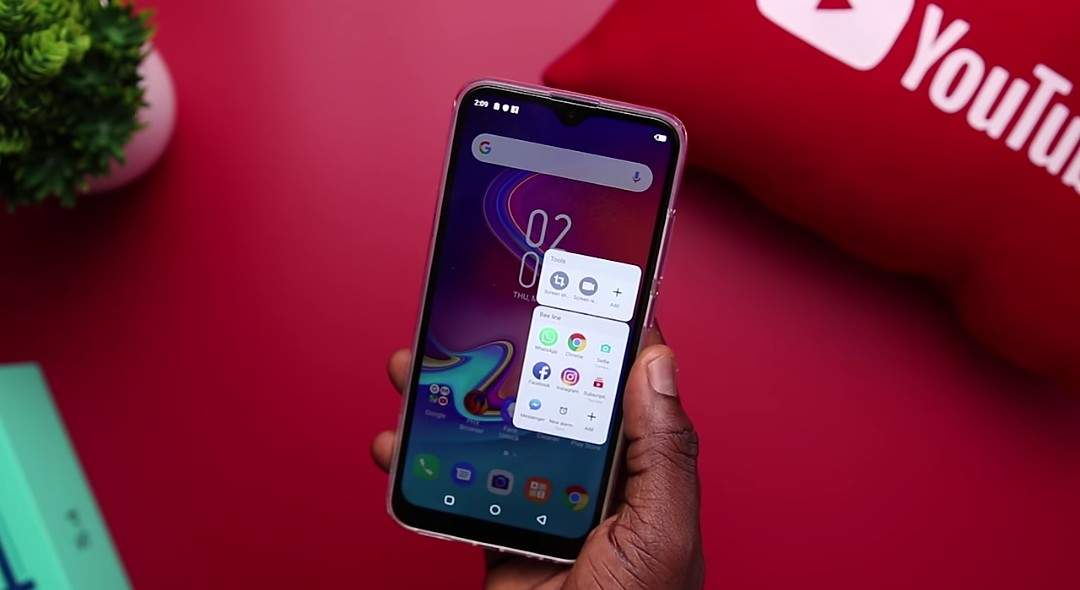 How to setup and use smart panel on the Infinix Hot S4 smart phone