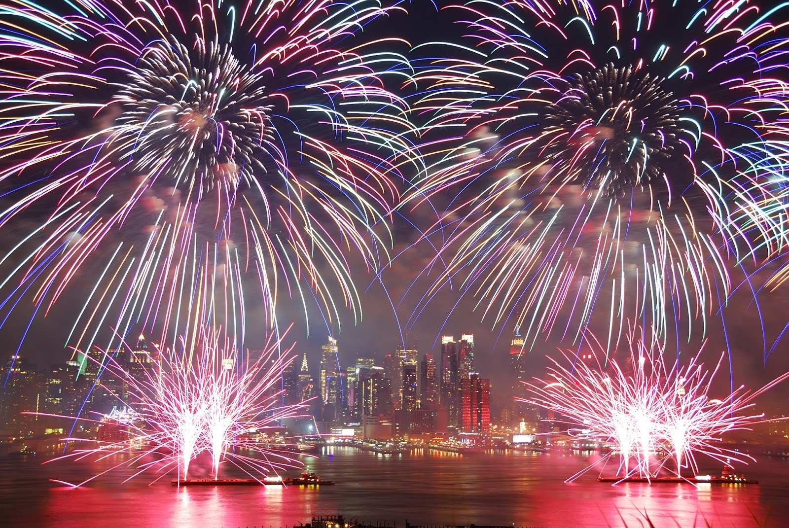 Happy 4th July Fireworks 2017