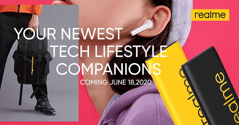 realme to bring Buds Air Neo, Powerbank 2, and Adventure Backpack in PH